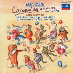 Saint-Saëns: Le Carnaval des Animaux; Phaéton; Danse Macabre etc. - Pascal Roge, Cristina Ortiz, London Sinfonietta, Philharmonia Orchestra, Charles Dutoit