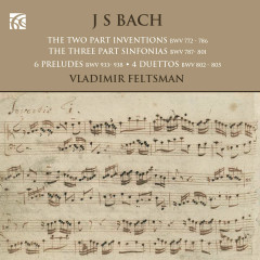 J.S. Bach: Works for Solo Piano - Vladimir Feltsman