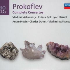 Prokofiev: The Piano Concertos/Violin Concertos etc - Vladimir Ashkenazy, London Symphony Orchestra, Andre Previn, Joshua Bell, Orchestre Symphonique de Montreál