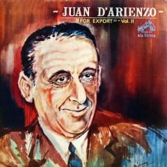 For Export, Vol. 2 - Juan D'Arienzo y su Orquesta Típica