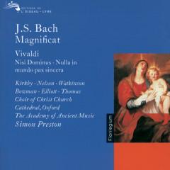 Bach, J.S. / Vivaldi: Magnificat / Nisi Dominus / Nulla in Mundo Pax Sincera etc. - Judith Nelson, Emma Kirkby, Carolyn Watkinson, James Bowman, Paul Elliott