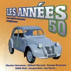 Les Anneés 50 Vol. 4 (Enregistrements Originaux) - Various Artists