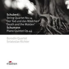 Schubert : String Quartet, 'Death and the Maiden' & Schumann : Piano Quintet - Elatus - Borodin Quartet