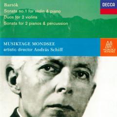 Bartók: Violin Sonata No. 1; Sonata for 2 Pianos & Percussion; 10 Duos - Andras Schiff, Yuuko Shiokawa, Hansheinz Schneeberger, Lorand Fenyves, Bruno Canino