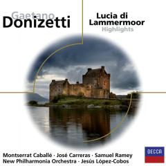 Lucia di Lammermoor - Highlights - Jose Carreras, Samuel Ramey, New Philharmonia Orchestra, Jesus Lopez-Cobos, Montserrat Caballe