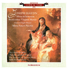 Haydn: Great Organ Mass; Missa Sancti Nicolai; Missa Rorate Coeli - Simon Preston, Choir of Christ Church Cathedral, Oxford, The Academy of Ancient Music