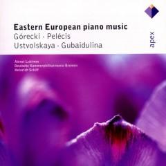 Gubaidulina, Ustvolskaya, Górecki & Pelécis : Piano Concertos  -  Apex - Alexei Lubimov
