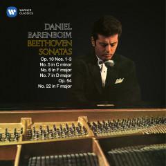 Beethoven: Piano Sonatas Nos. 5, 6, 7, Op. 10 & 22, Op. 54 - Daniel Barenboim