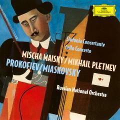Prokofiev: Sinfonia Concertante; Miaskovsky: Cello Concerto - Mischa Maisky, Russian National Orchestra, Mikhail Pletnev