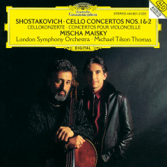 Shostakovich: Cello Concertos Nos.1 Op.107 & 2 Op.126 - Mischa Maisky, London Symphony Orchestra, Michael Tilson Thomas