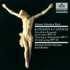 J.S. Bach: Cantatas BWV 56, BWV 4 & BWV 82 - Dietrich Fischer-Dieskau, Münchener Bach-Chor, Münchener Bach-Orchester, Karl Richter
