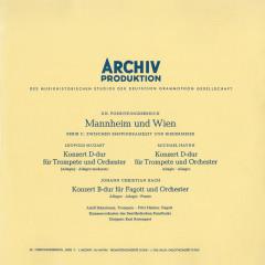 Mozart, L. / Haydn, M. / Bach, J.C. / Telemann: Trumpet Concertos - Adolf Scherbaum, Fritz Henker, Chamber Orchestra of the Saarländischen Rundfunk, Bach Orchester Hamburg, Karl Ristenpart