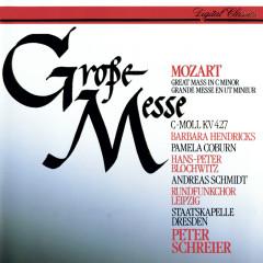 Mozart: Mass in C minor - Peter Schreier, Barbara Hendricks, Pamela Coburn, Hans Peter Blochwitz, Andreas Schmidt