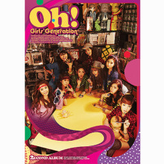 Oh! - The Second Album - SNSD