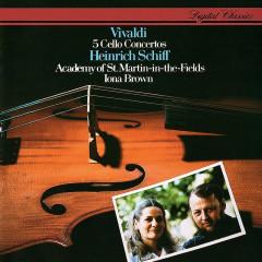 Vivaldi: 5 Cello Concertos - Heinrich Schiff, Academy of St. Martin in the Fields, Iona Brown