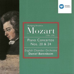 Mozart: Piano Concertos Nos 20 & 24 - Daniel Barenboim, English Chamber Orchestra