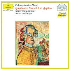 Mozart: Symphonies Nos.40 & 41 - Berliner Philharmoniker, Herbert von Karajan