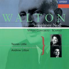 Walton: Violin Concerto; Symphony No. 2; Scapino - Andrew Litton, Tasmin Little, Bournemouth Symphony Orchestra
