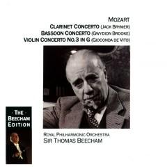 Mozart: Clarinet, Bassoon & Violin Concertos - Sir Thomas Beecham, Royal Philharmonic Orchestra