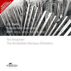 Bach, JS : Harpsichord Concertos Nos 1, 2, 5 & 6  -  Elatus - Amsterdam Baroque Orchestra, Ton Koopman