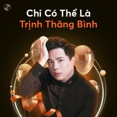 Chỉ Có Thể Là Trịnh Thăng Bình - Trịnh Thăng Bình
