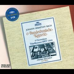 Bach: 6 Brandenburg Concertos; 4 Ouvertures; Tripel Concerto BWV 1044 - Münchener Bach-Orchester, Karl Richter