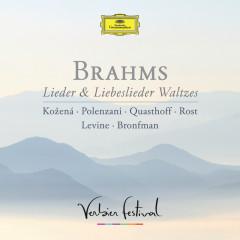 Brahms: Lieder & Liebeslieder Waltzes (Live) - Magdalena Kozena, Andrea Rost, Matthew Polenzani, Thomas Quasthoff, James Levine