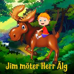 Jim möter Herr Älg - Katarina Ewerlöf