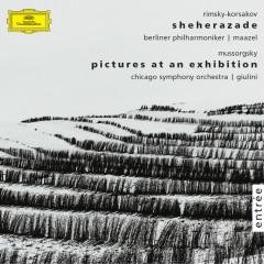 Rimsky-Korsakov: Scheherazade, Op. 35  · Mussorgsky: Pictures at an Exhibition - Lorin Maazel, Berliner Philharmoniker, Leon Spierer, Carlo Maria Giulini, Chicago Symphony Orchestra