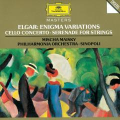 Elgar: Enigma Variations; Cello Concerto; Serenade For Strings - Mischa Maisky, Philharmonia Orchestra, Giuseppe Sinopoli