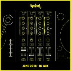 Nervous June 2018: DJ Mix - Various Artists