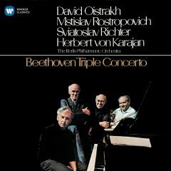 Beethoven: Triple Concerto, Op. 56 - David Oistrakh, Mstislav Rostropovich, Sviatoslav Richter, Berliner Philharmoniker, Herbert von Karajan