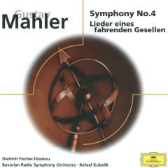 Mahler: Symphony No. 4, Lieder eines fahrenden Gesellen - Elsie Morison, Dietrich Fischer-Dieskau, Rudolf Koeckert, Symphonieorchester des Bayerischen Rundfunks, Rafael Kubelik