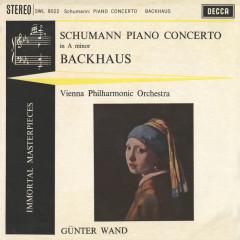 Schumann: Piano Concerto - Wilhelm Backhaus, Wiener Philharmoniker, Günter Wand