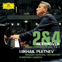 Beethoven: Piano Concertos Nos. 2 & 4 - Mikhail Pletnev, Russian National Orchestra, Christian Gansch