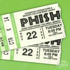 PHISH: 11/22/94 Jesse Auditorium- University of Missouri, Columbia, MO (Live) - Phish