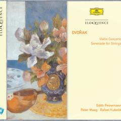 Dvorak: Violin Concerto; Serenade for Strings - Edith Peinemann, Czech Philharmonic Orchestra, Peter Maag