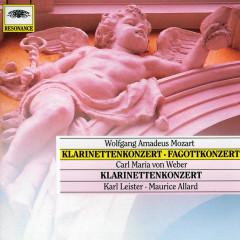 Mozart, W.A.: Clarinet & Bassoon Concerto; Weber: Clarinet Concerto - Karl Leister, Maurice Allard
