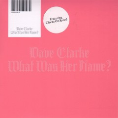 What Was Her Name - Dave Clarke