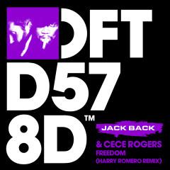 Freedom (Harry Romero Remix) - Jack Back, CeCe Rogers