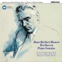 Beethoven: Fantasia, Op. 77, Piano Sonatas, Op. 2 Nos. 1 & 2 - Hans Richter-Haaser