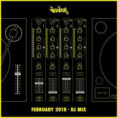 Nervous February 2018 - DJ Mix - Various Artists