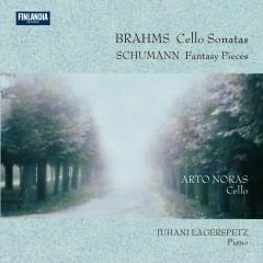 Brahms : Cello Sonatas - Schumann : Fantasy Pieces - Arto Noras, Juhani Lagerspetz