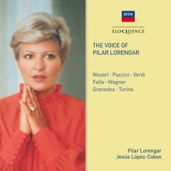 The Voice Of Pilar Lorengar - Pilar Lorengar, London Philharmonic Orchestra, Orchestre de la Suisse Romande, Jesus Lopez-Cobos