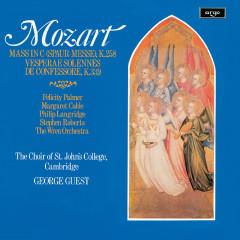 Mozart: Missa brevis; Vesperae Solennes - George Guest, Felicity Palmer, Margaret Cable, Philip Langridge, Stephen Roberts