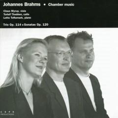 Brahms: Trio Op. 114, Sonatas Op. 120, No. 1 & 2 - Claus Myrup, Torleif Thedeen, Lotte Toftemark