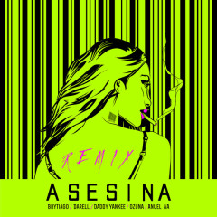Asesina (Remix) - Brytiago, Darell
