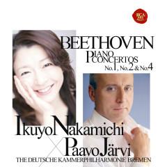 Beethoven: Piano Concertos No. 1, No. 2 & No. 4 - Ikuyo Nakamichi, Paavo Järvi, The Deutsche Kammerphilharmonie Bremen
