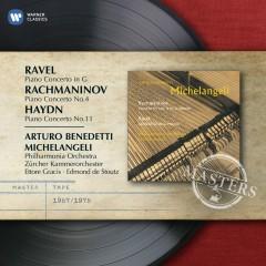 Haydn, Rachmaninov, Ravel: Piano Concertos - Arturo Benedetti Michelangeli