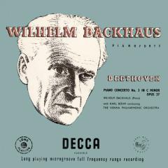 Beethoven: Piano Concerto No. 3 - Wilhelm Backhaus, Wiener Philharmoniker, Karl Böhm